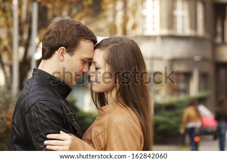 Beauty couple - stock photo