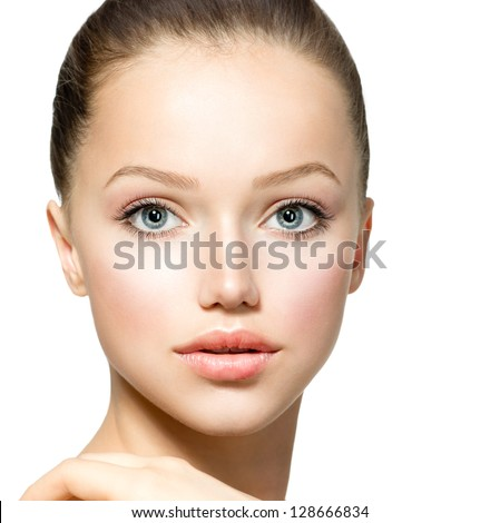Beauty Face - stock photo
