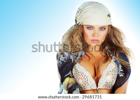 beauty glamour sexy woman portrait