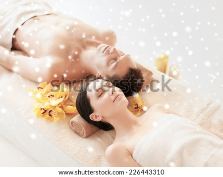 young attractive woman getting spa treatment stock photo. Black Bedroom Furniture Sets. Home Design Ideas