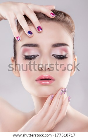 beauty makeup portrait