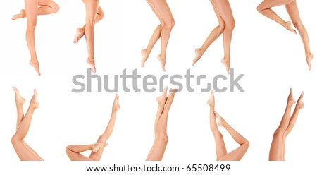 Beauty Nude Female - stock photo