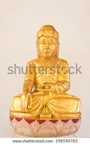 beauty of buddha statue in thailand