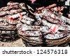 beauty of italian slow food market ( HDR image ) - stock photo