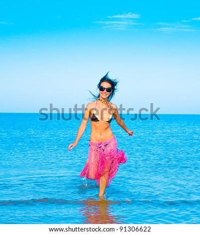 Beauty Pleasure Fashion - stock photo