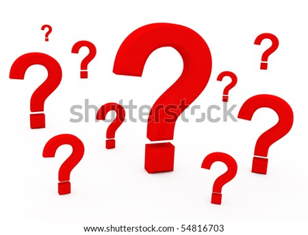 Beauty question sign - stock photo