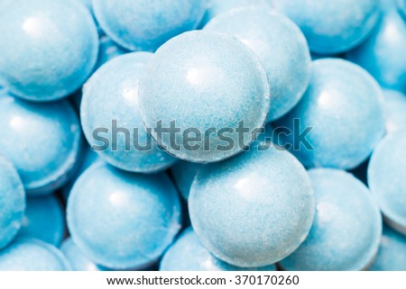 Beauty spa, bath bomb, aroma cosmetic soap. Natural aromatherapy ball for care, wellness, health, treatment, hygiene, relaxation. Relax bathroom. Object for luxury therapy, skincare - stock photo