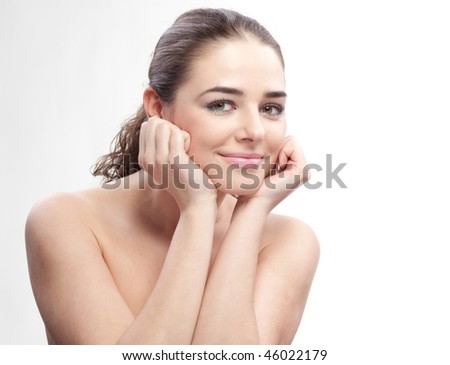 Beauty woman portrait