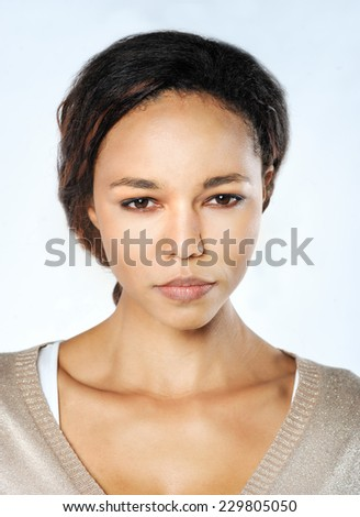 Beauty Woman. Skincare concept. Beauty Face.Perfect Skin. Healthcare. - stock photo