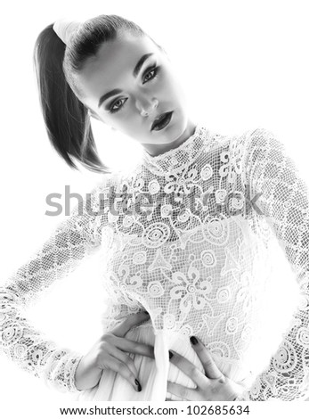 beauty women - stock photo