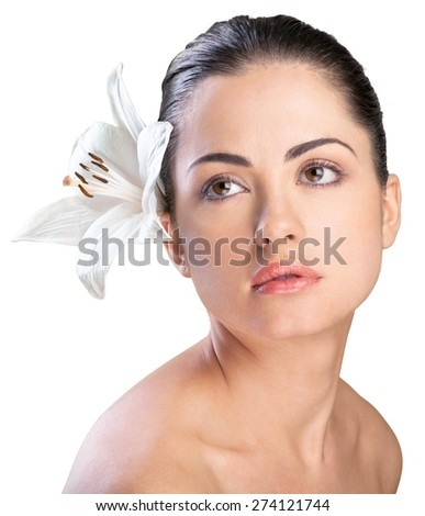 Beauty, Women, Human Face. - stock photo
