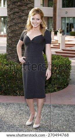 """Becki Newton attends the Academy of Television Arts & Sciences Presentation An Evening with """"Ugly Betty"""" held at the Leonard H. Goldenson Theatre in North Hollywood, California on April 30, 2007. - stock photo"""