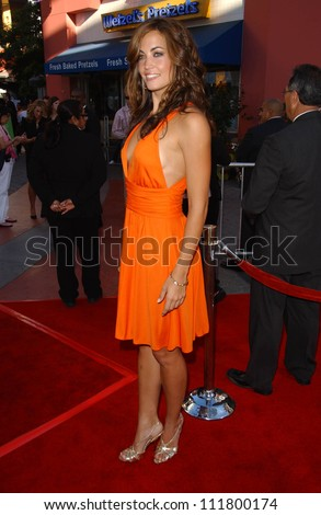 """Becky O'Donohue at the World Premiere of """"I Now Pronounce You Chuck and Larry"""". Gibson Amphitheatre, Studio City, CA. 07-12-07 - stock photo"""