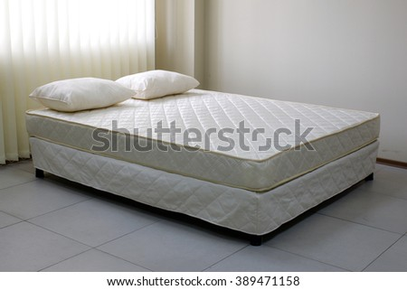 bed - stock photo