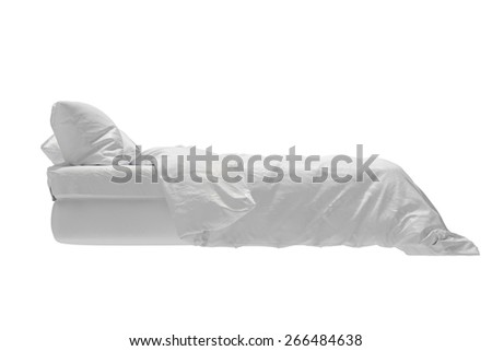 Bed side - stock photo