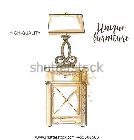 Lamp Furniture Stock Images, Royalty-Free Images & Vectors ...
