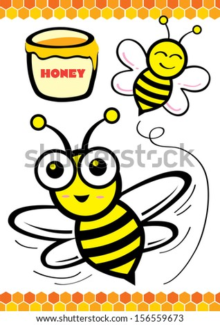 Bee And Honey