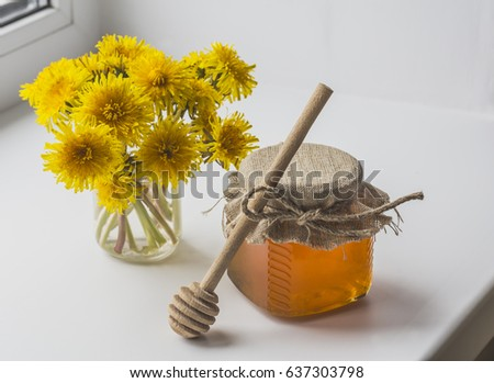 Bee honey is a delicious and healthy product
