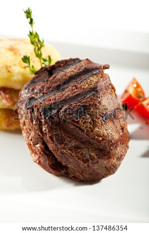 Beef Steak with Potato