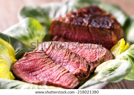 how to cook sliced beef tenderloin