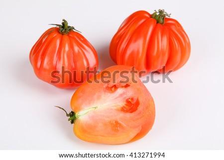 beefsteak tomato - stock photo