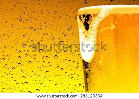 Beer, Alcohol, Pint Glass. - stock photo
