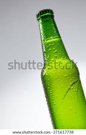 beer bottles - stock photo