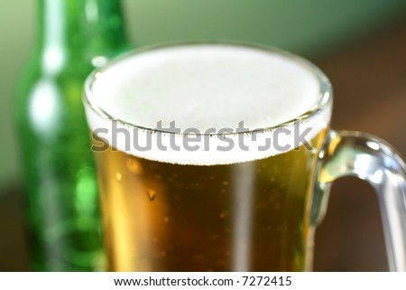 Beer Close Up - stock photo