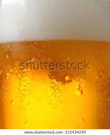 beer macro - stock photo