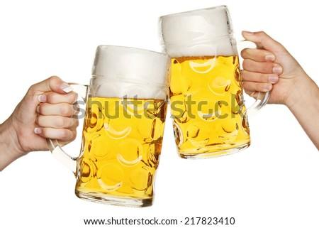 beer mug - stock photo