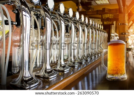 Beer store - stock photo