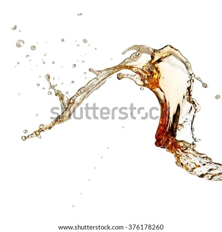 Beer up with drops - stock photo