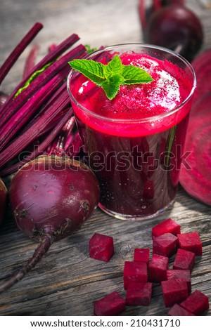 Beetroot Juice   - stock photo