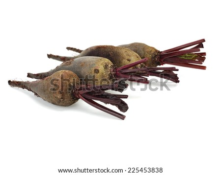 Beets on a white background - stock photo