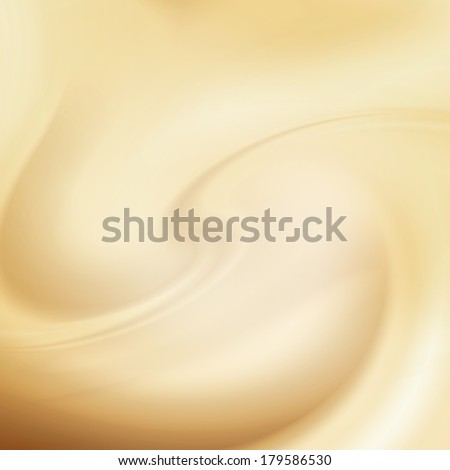 beige background, cream, milk and white chocolate swirl background - stock photo