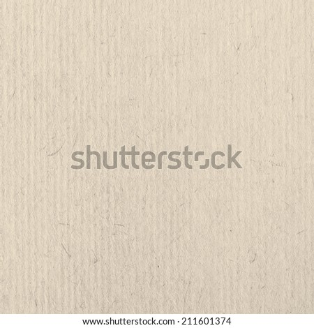 Beige Cardboard Texture - stock photo