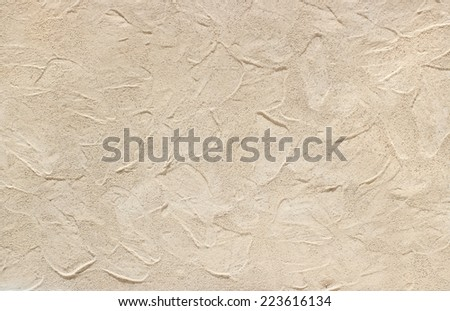 BEIGE CEMENT TEXTURE  - stock photo