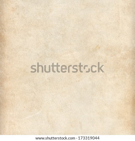 Beige dirty paper texture or background - stock photo