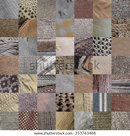 beige fabric textures, 49 pictures - stock photo