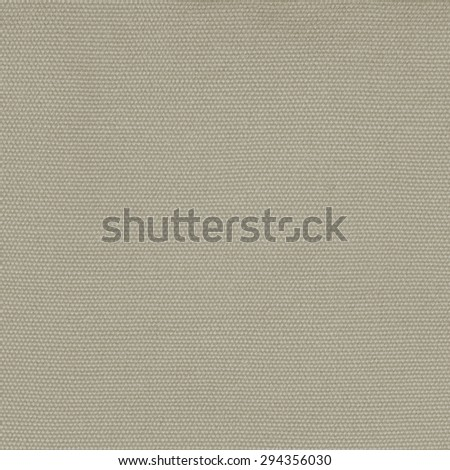 Beige Khaki Cotton Fabric Texture Background, Detailed Macro Closeup, Large Vertical Textured Linen Canvas Burlap Copy Space Pattern - stock photo