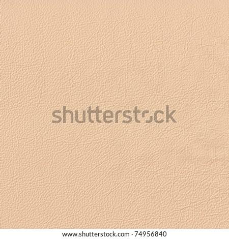 beige leather - stock photo