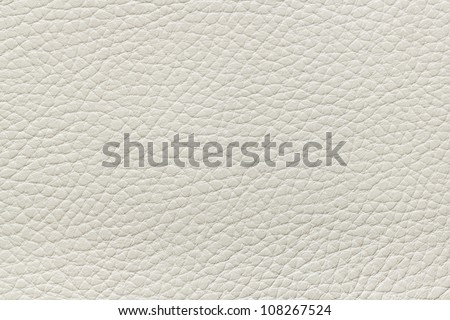Beige leather texture - stock photo