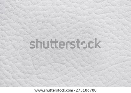 Beige leather texture background - stock photo