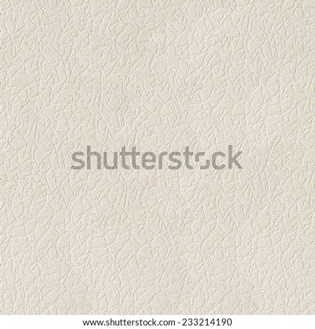 Beige leather texture background.  Seamless closeup texture / close-up - stock photo