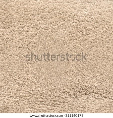 beige leather texture closeup. Can be used for background