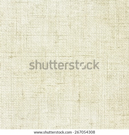 Beige Linen Texture or Background/ Linen Texture - stock photo
