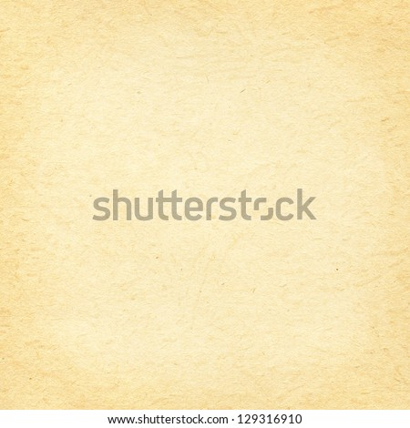 Beige paper texture - stock photo