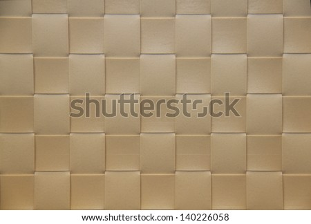 beige Placemat, texture - stock photo