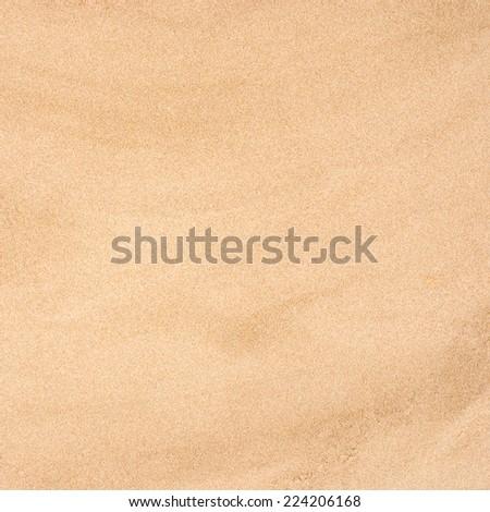 beige sand surface - stock photo