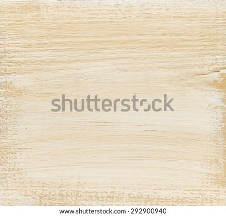 Beige wood board, as background - stock photo